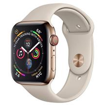 Apple Watch 4 Cellular 40mm Gold Stainless Steel Case with Stone Sport Band